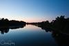 Willamette River at night, Salem, Oregon