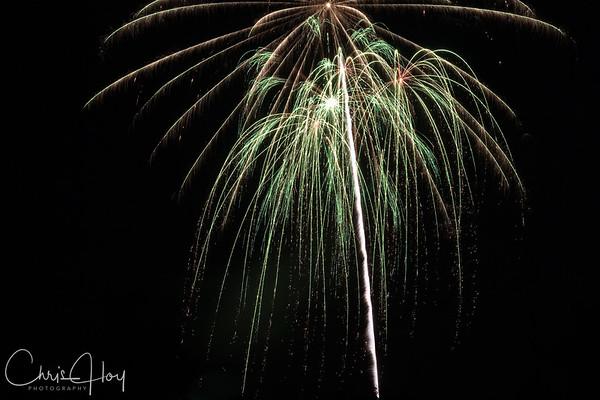 Fireworks, 4th of July 2009, Corvallis, Oregon
