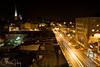 Salem, Oregon at night