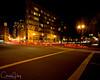 Burnside at Night, Portland, Oregon