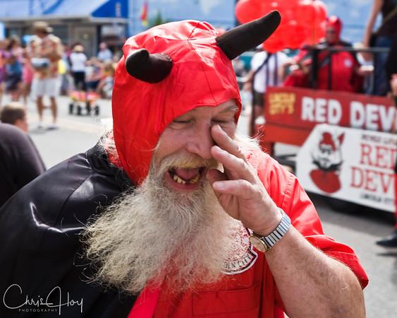 Red Devil<br /> 2007 Garibaldi Days Parade