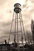 Water Tower at Merrill, Oregon