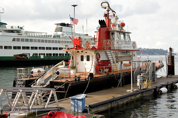 Chief Seattle Fire Boat in Seattle, Washington