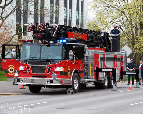 Marion County Fire District 1 at the Capitol Mall
