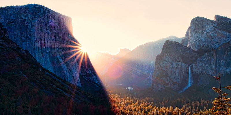 Tunnel View, Yosemite Valley, Yosemite National Park, California