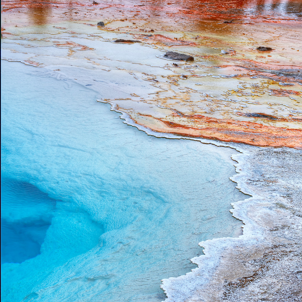 Silex Spring, Yellowstone National Park, Wyoming