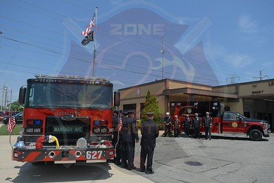 Levittown F.D. Dedication and Wet Down Ceremony for Engine 627 and Ambulance 6213  7/7/19