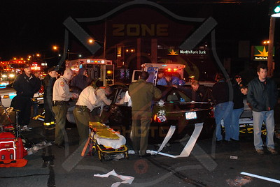 Levittown F.D. Fatal MVA Wantagh Ave. and Hempstead Tpke. 11/11/ 07