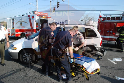 Levittown F.D. MVA Silver Ln. and Hempstead Tpke.4/23/08