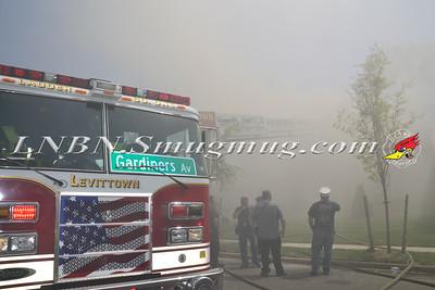 Levittown F.D. House Fire 72 Flamingo Road 5-4-15