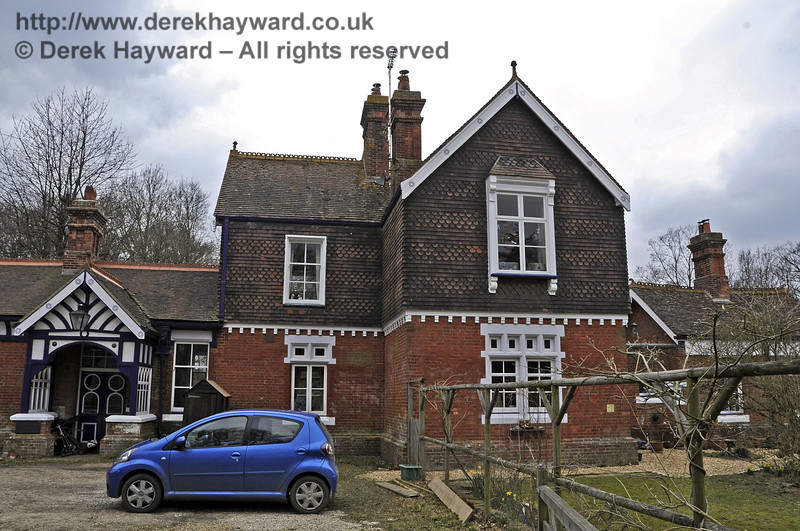 The station house at Barcombe Station.  03.04.2013  6555