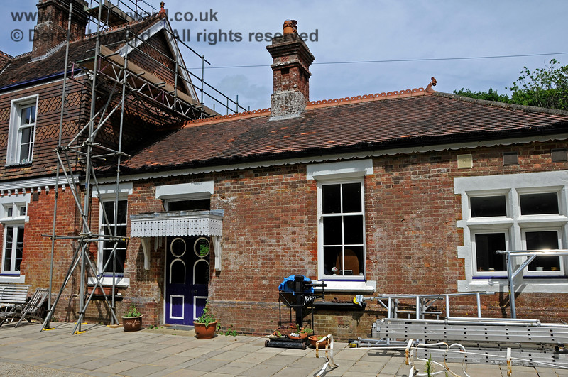 The southern end of Barcombe Station. This would have been the booking hall and waiting room. 20.06.2020 20429  Please note that this is private property.  Images taken by arrangement, and with the permission of the owners.