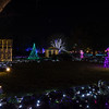 2016 GardenFest of Lights at Lewis Ginter Botanical Garden, with David's family; clear, cool evening; Conner & I stayed together taking time exposures while the others did their own things