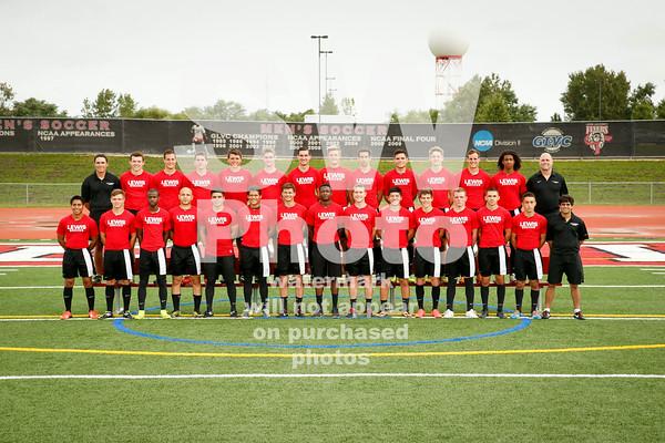 2014 Lewis Men's Soccer Team