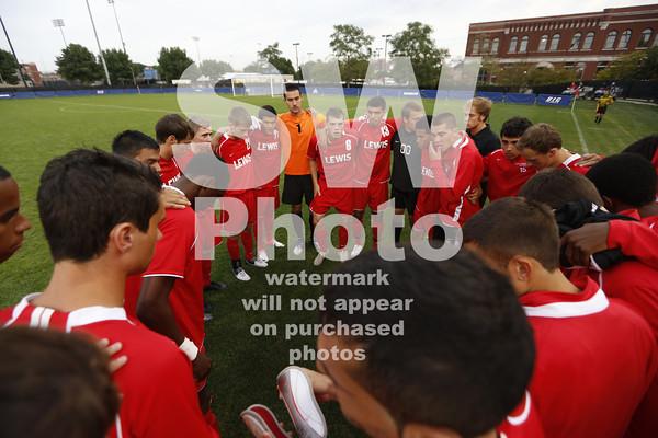 8.18.2012 - Lewis Men's Soccer at UIC