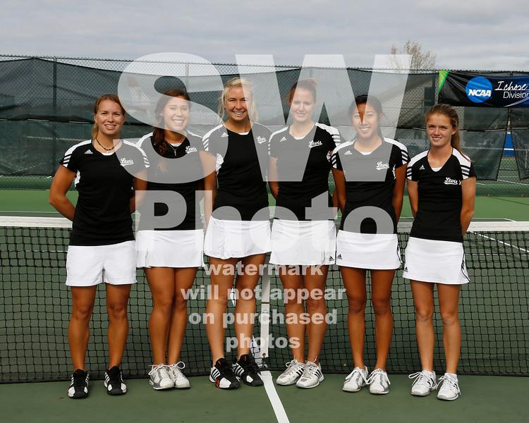 Lewis Tennis Action