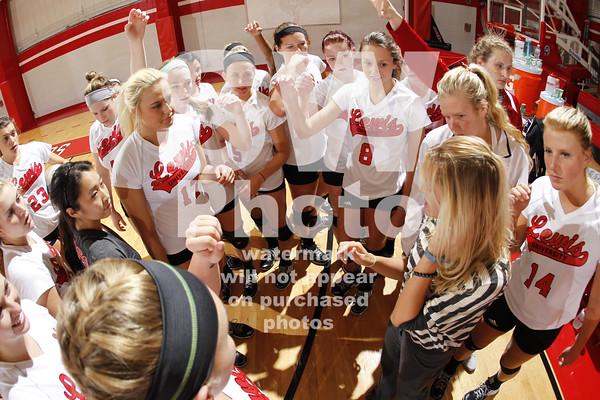 10.10.2014 - Lewis Women's Volleyball vs. St. Joseph's