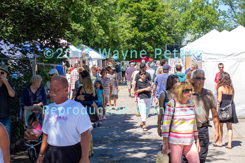 Lewiston Art Festival, August 10-11, 2013, in Lewiston, NY.