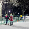 The opening night of Ice Skating in Academy Park, November 30, 2013 in Lewiston, NY.