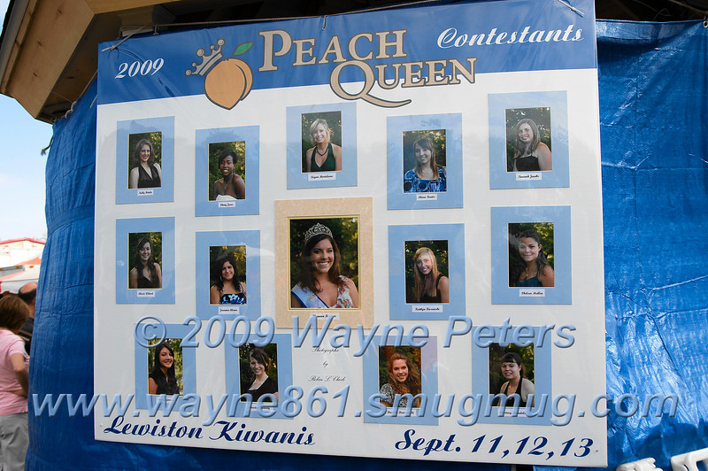 Lewiston Kiwanis Peach Festival, 2009