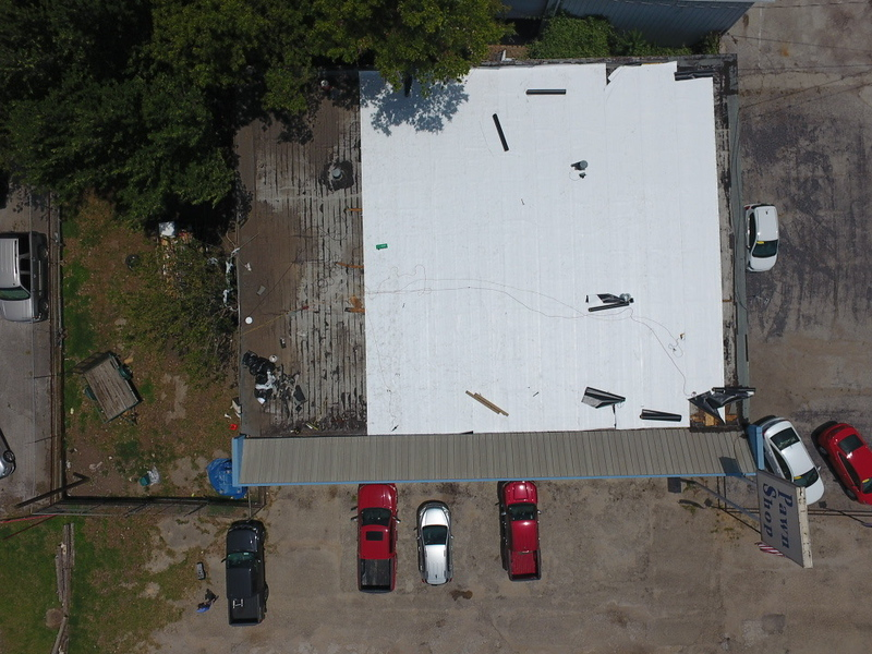 Lewisville Commercial Pawn Shop Roof