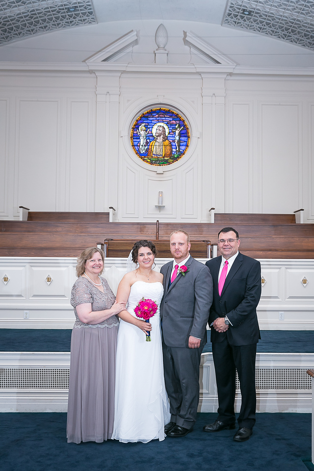 Amy & Tom's wedding day at Estes Chapel at Asbury Seminary 7.19.15.