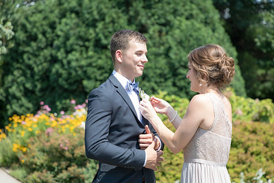Anne & Bradon's wedding day at the UK Arboretum and the Church of the Annunciation in Paris, Ky. 6.29.19.