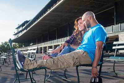 Ashlee & Paul at Keeneland 6.18.14.