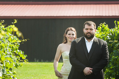 Brionna & Robert's wedding day at Talon Winery 9.5.14.