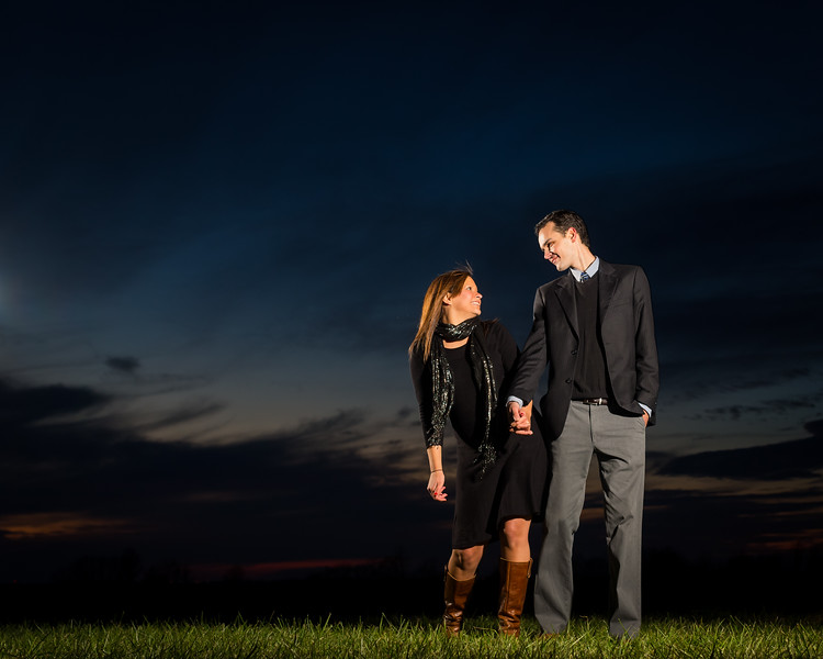 Brittany & Thomas, Engagements at Talon Winery and in Downtown Lexington 11.19.13.