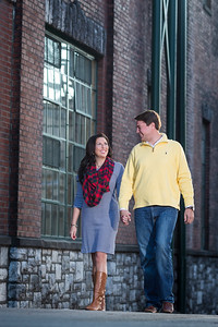 Brooke & Aaron engagements at Buffalo Trace 10.20.14.
