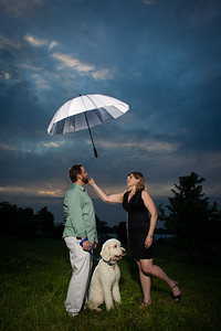 Christy & Bryan's Keeneland engagement photos 6.02.14.
