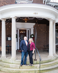 Deborah & Brad's wedding day at the Holly Hill Inn in Midway, 12.27.19