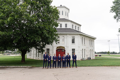 Haley & Corey's wedding day at the Round Barn 9.8.18.