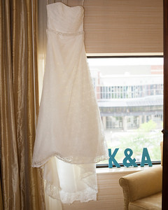 Katie & Andrew's wedding day at the Hilton 6.14.14.