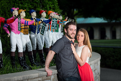 Mindy and Chris at Keeneland 5.21.14.