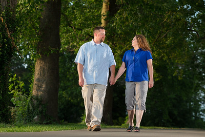 Misty & Mitch's engagement at the Kentucky Horse Park 5.26.14.