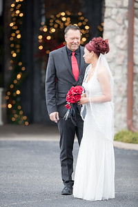 Shannon & Jody's wedding day at the Ky Castle, 12.22.19