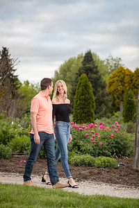 Shelby & Travis at the UK Arboretum 4.28.19