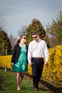 Shelby & Tyler's engagements at Keenland and on the farm in Versailles, Ky. 4.10.12.