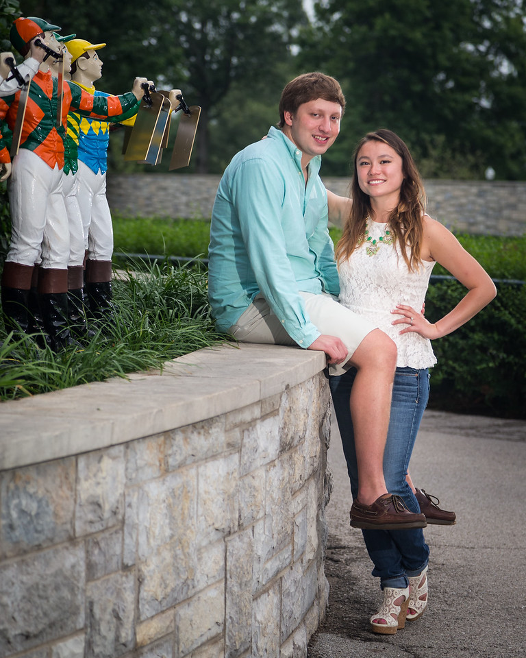 Sonya & Jake at Keeneland 7.8.15.