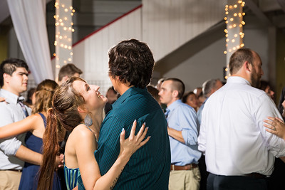 Sonya & Jake at the Red Mile Round Barn, 9/17/16.