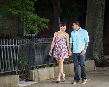 Tara & Edgar in Gratz Park and Downtown Lexington 6.24.15.
