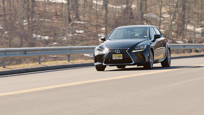 2017 Lexus IS350 AWD Driving Reel