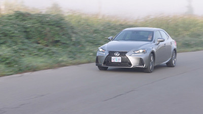2017 Lexus IS350 F Sport Driving Reel