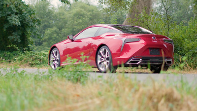 2018 Lexus LC500 Coupe Parked Reel