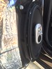 """Aftermarket speaker and speaker adapter from  <a href=""""http://car-speaker-adapters.com/items.php?id=SAK037""""> Car-Speaker-Adapters.com</a>  installed on door"""