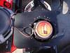 "Rear view of aftermarket speaker mounted in  Speaker adapter bracket from  <a href=""http://www.car-speaker-adapters.com/items.php?id=SAK003""> Car-Speaker-Adapters.com</a>"