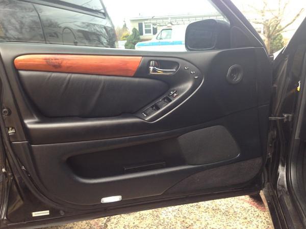 Driver side door before speaker installation