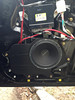 "Aftermarket speaker and speaker adapter bracket   from  <a href=""http://www.car-speaker-adapters.com/items.php?id=SAK002""> Car-Speaker-Adapters.com</a>   installed on door"